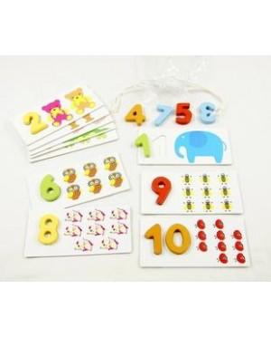 Arithmetic Digital Card 数字拼图卡