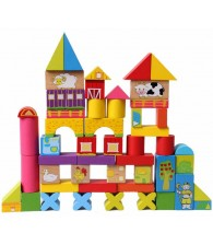 52pcs Happy Farm Building Blocks