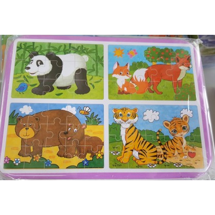 4 in 1 puzzles