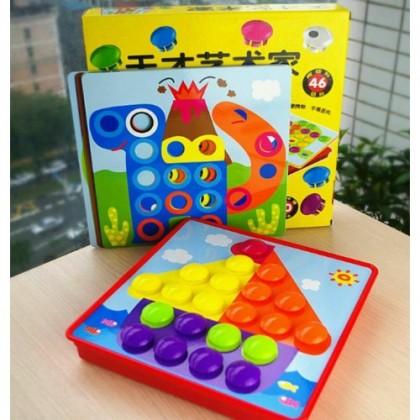 Genius Art Button Game