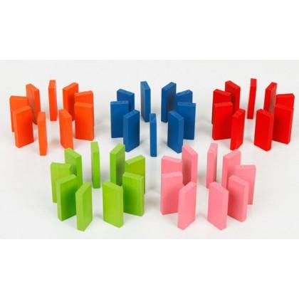100pcs Colors Dominos