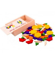 60pcs Colors Puzzle Blocks 60片拼图积木