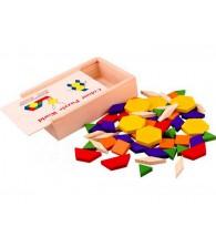 60pcs Colors Puzzle Blocks 60片拼图积木