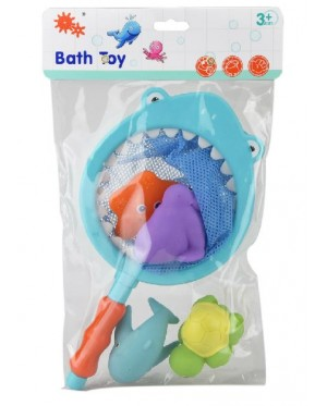 Fishing Net with Sea Animals Bath Toy Beach Toy