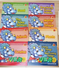 Activity Book (set of 8)