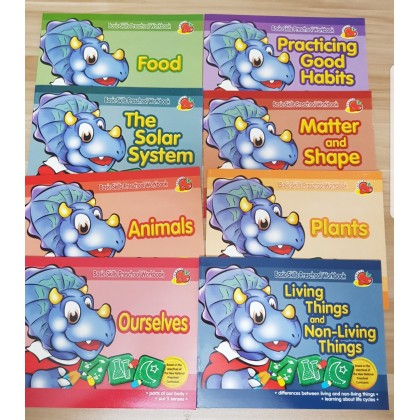 Activity Book (set of 8) Factory Clerance Book