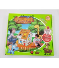 3D Paper Puzzle Painting House (Forest Animal)