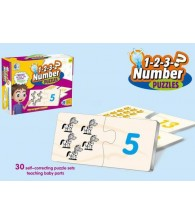 Match It Number self correcting Puzzle set