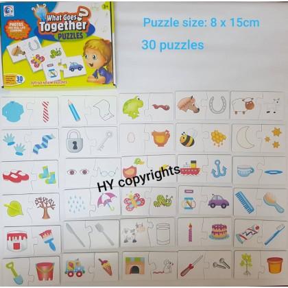 Match It Spelling Number Mathematics 20-24 (Puzzles)