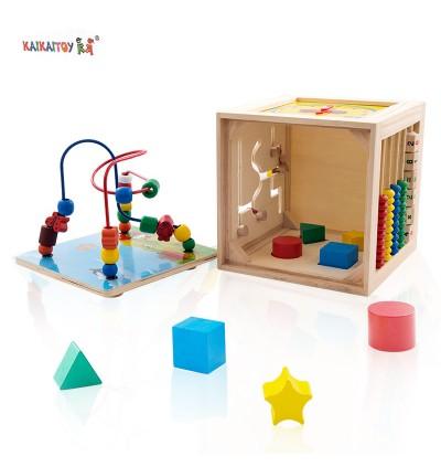 5 in 1 Learning Cube 五合一绕珠
