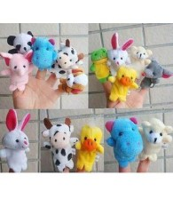 Finger Puppet (Animal) set of 10 迷你小动物手指偶