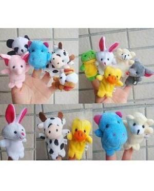 Finger Puppet (Animal) set of 10 迷你小动物手指偶