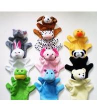 Hand Puppet (10/set) 大手偶动物毛绒娃娃公仔 (10/套)