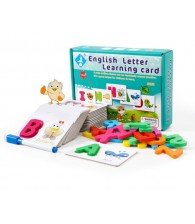 English Letter Learning Card