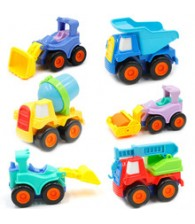 Push and Pull Construction Vehicles Cars