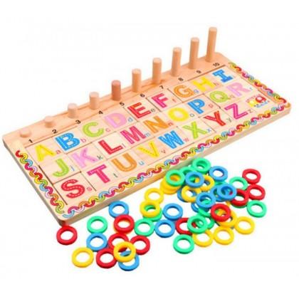Alphabet Counting Logarithm Board 英文对数板