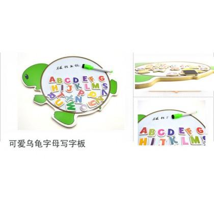 Animal Magnet Drawing Board 动物画板留言板七巧板