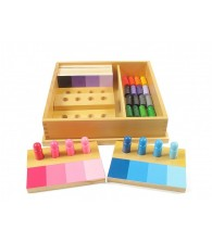 Paring of Colors Montessori Color Resemblance Sorting Task