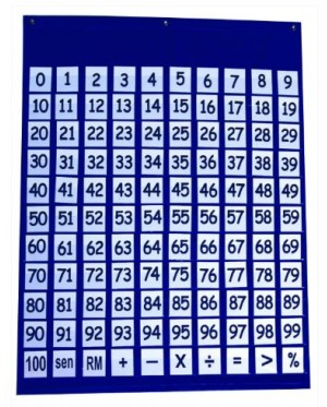 100 Number Chart & Cards