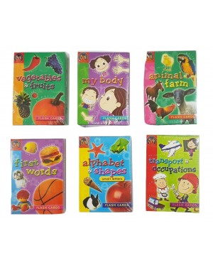 Flash Card in Box (Small) Set of 6