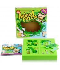 Animal Puzzle IQ Game 森林躲猫猫NIBOBO动物迷宫