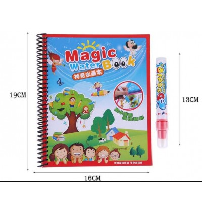 Water Magic Coloring Book