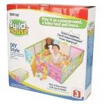 Build My House Play Yard Fence
