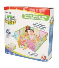 Build My House Play Yard Fence