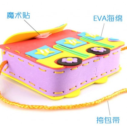 Children DIY Eva Sling Bag Art & Craft