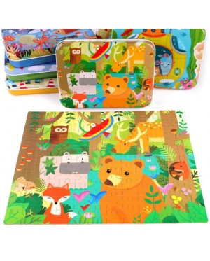 120pcs Wooden Jigsaw Puzzles Scenery Puzzle