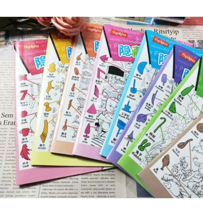 Small Hidden Picture Book Set of 6