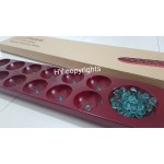Congkak Malaysia Traditional Game Counting Game Solid Wood