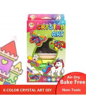 Crystal Art DIY 6 Colors Bake Free Air Dry Set