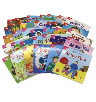 Pearson Easy To Learn English (35Books + 2 CDs) Kids Early Leaning