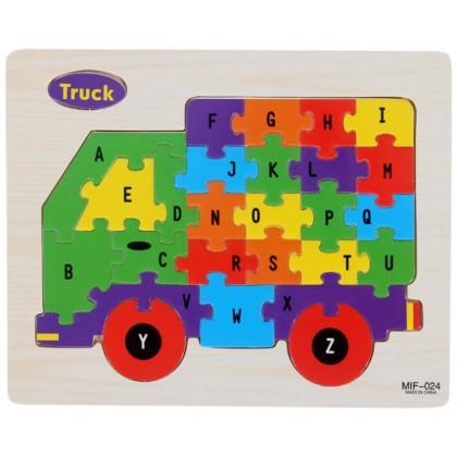 26 Alphabet 3D Puzzles (min 2)
