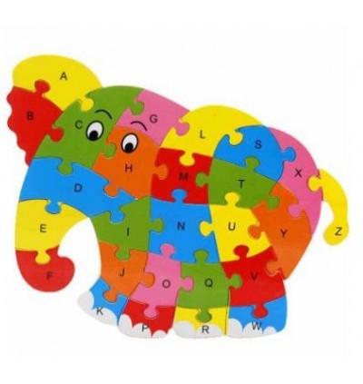 26 Alphabet 3D Puzzles