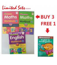 English Math Preschool Workbook Easy to Learn (Factory Clearance Stocks)