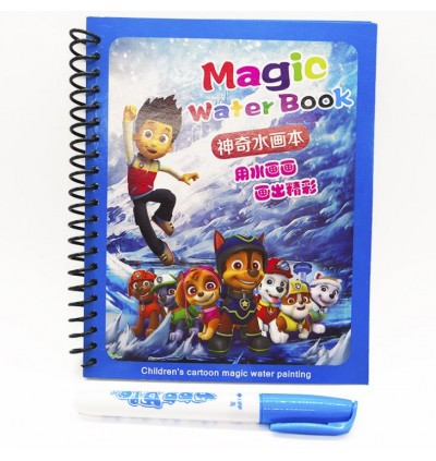 Coloring Book Doodle with Water Magic Pen