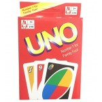 UNO Card Game Table Game