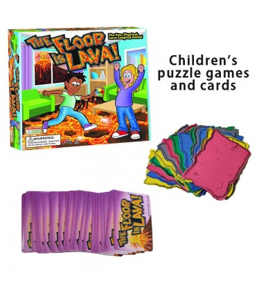 The Floor is Lava Family Interactive Fun Board Game for Kids Adults
