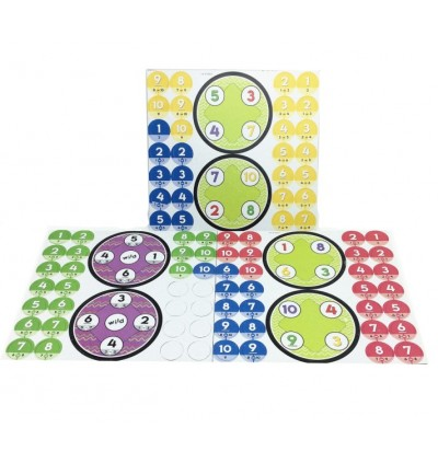 Spin-a-roo Sorting and Counting Game
