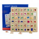 Shichida Children Right Brain Memory Training Game Compare Card Memory Game