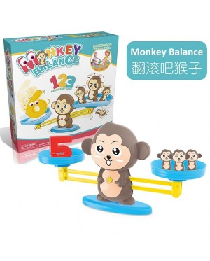 Monkey Balance Scale Toy Digital Addition and Subtraction Math Scales Toys