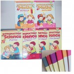Hippo Series - Intro to Maths & Science - Clearance book with slight peel on the corner & Yellow Spots