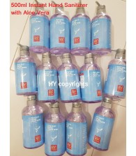 Instant Hand Sanitizer with Aloe Vera 500ml