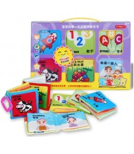 Baby Cloth Book Gift Box (6 in 1)