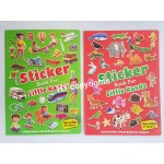 Sticker Book for Little Hand Set of 2