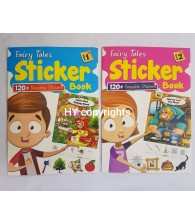Fairy Tales Sticker Book Set of 2