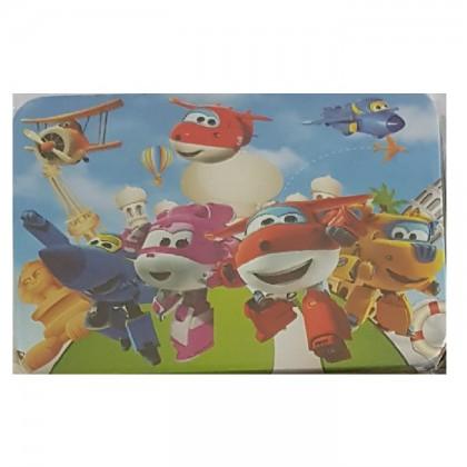 100pcs Cartoon Puzzle in Steel Box