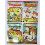 ECO Shop Logo - Pre-School English Activity Workbook (Set of 4)
